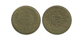 2 Francs Tunisie