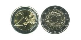 2 Euros Les 30 ans du Drapeau slovaquie