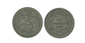 10 Francs Tunisie Argent