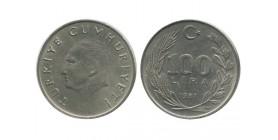 100 Lires Turquie