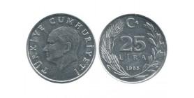 25 Lires Turquie
