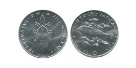 10 Lires Paul VI Vatican