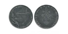 100 Lires Paul VI Vatican