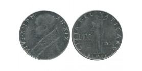 100 Lires Pie XII Vatican