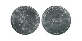 2 Lires Paul VI Vatican