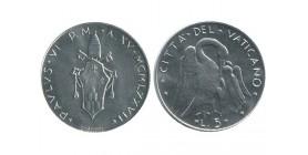 5 Lires Paul VI Vatican