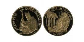 50 Euros Jean Paul II Vatican