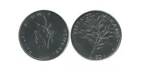 50 Lires Paul VI Vatican