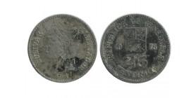 25 Centimes Vénézuela