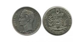 1 Bolivar Vénézuela Argent