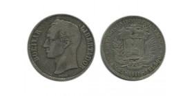 5 Bolivars Vénézuela Argent