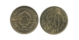 20 Para Yougoslavie