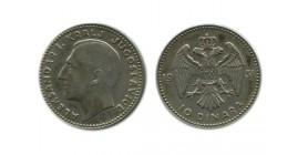 10 Dinars Alexandre Ier Yougoslavie - Argent