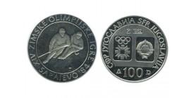 100 Dinars Yougoslavie - Argent