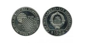150 Dinars Yougoslavie - Argent