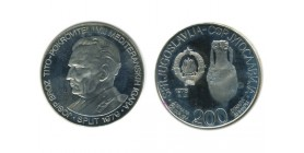 200 Dinars Yougoslavie - Argent
