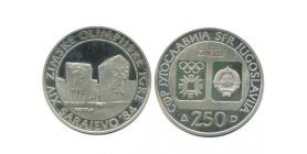 250 Dinars Yougoslavie - Argent