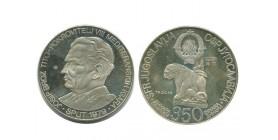 350 Dinars Yougoslavie - Argent
