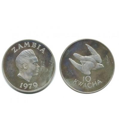 10 Kwacha Zambie - Argent
