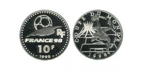 10 Francs Bresil Football Coupe du Monde de Football