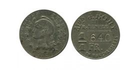 1 Franc En Marchandise Maison J.bory paris