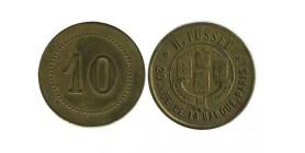 10 Centimes H. Pussey PARIS