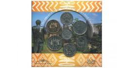 Séries B.U. Series B.U. commemoratives en francs Pacifiques