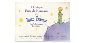 Séries B.U. Series B.U. commemoratives en francs Petit Prince