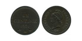 1 Centime Dupré Deuxième République