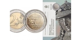 2 Euros Commemoratives Donatello St Marin