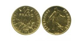 1/2 Franc Semeuse Piéfort