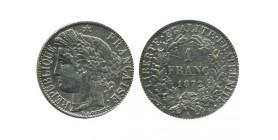 1 Franc Ceres Troisième République