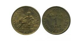 1 Franc Chambre de Commerce Troisième République