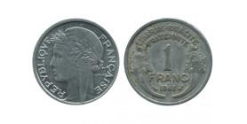 1 Franc Morlon Aluminium Etat Français