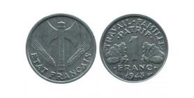 1 Franc Bazor Aluminium Etat Français