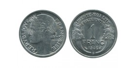 1 Franc Morlon Aluminium Gouvernement Provisoire