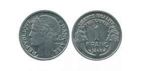 1 Franc Morlon Aluminium Quatrième République