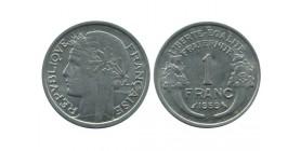 1 Franc Morlon Aluminium Cinquième République
