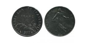 1 Franc Semeuse Piéfort En Nickel