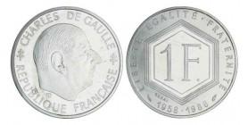 1 Franc de Gaulle Essai