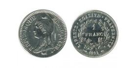 1 franc République - Essai
