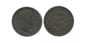 1/2 Franc Napoleon Ier Tête de Nègre