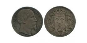 1/2 Franc Henri V Tête Agée
