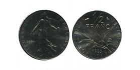 1/2 Franc Semeuse Essai  Nickel