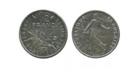 1/2 Franc Semeuse Nickel Piéfort En Argent