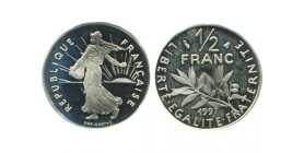 1/2 Franc Semeuse Nickel