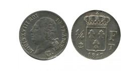 1/4 Franc Louis XVIII