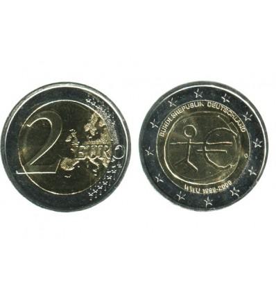 2 Euros 10 Ans de L'euro Allemagne