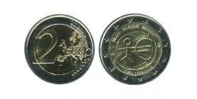 2 Euros 10 Ans de L'euro Belgique