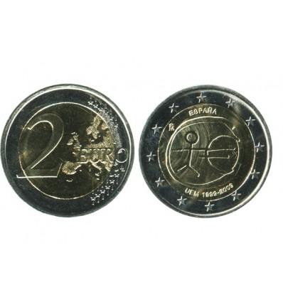 2 Euros 10 Ans de L'euro Espagne